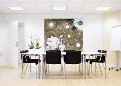 Lokale 2A? Det perfekte mødelokale til et møde med max 6 personer...