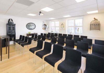 Lokale 3 hos MBK skaber den perfekte ramme om dit næste kursus, møde eller foredrag...