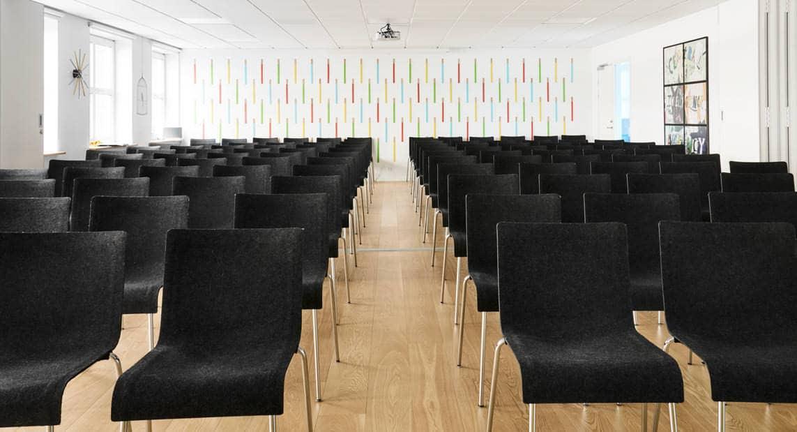 Konferencelokale hos MBK med plads til op til 138 personer